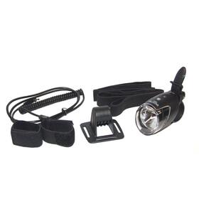 B&M IXON IQ Speed LED Cykellampa fram med hjälmhållare